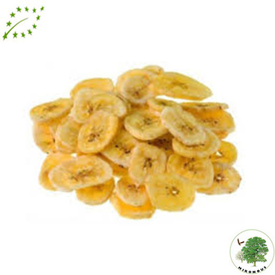Eco Banana Deshidratada Rodajas
